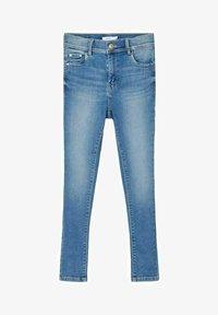 Name it - HIGH WAIST SKINNY FIT - Jeans Skinny Fit - light blue denim - 0