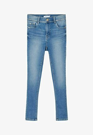 HIGH WAIST SKINNY FIT - Jeansy Skinny Fit - light blue denim