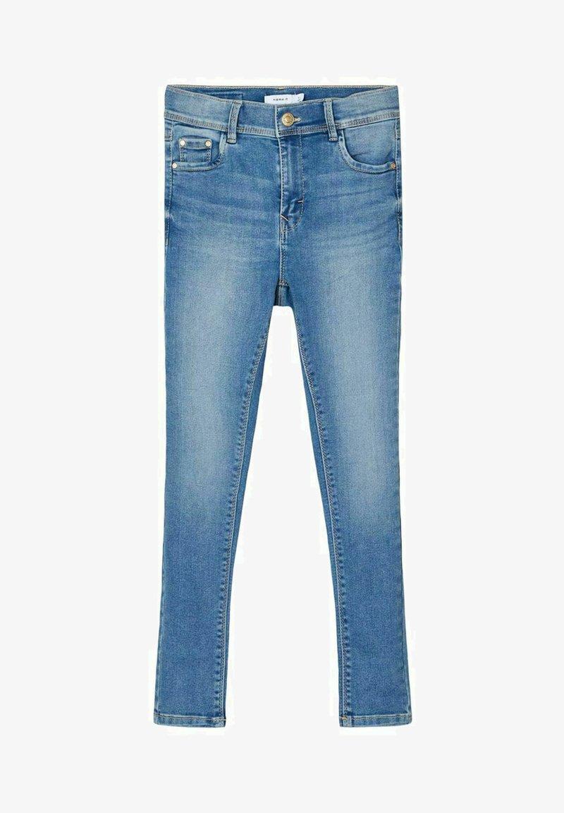 Name it - HIGH WAIST SKINNY FIT - Jeans Skinny Fit - light blue denim