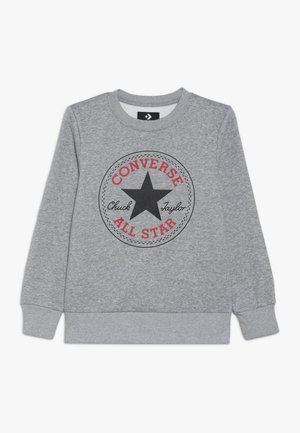 CHUCK PATCH CREW - Sweatshirt - dark grey heather