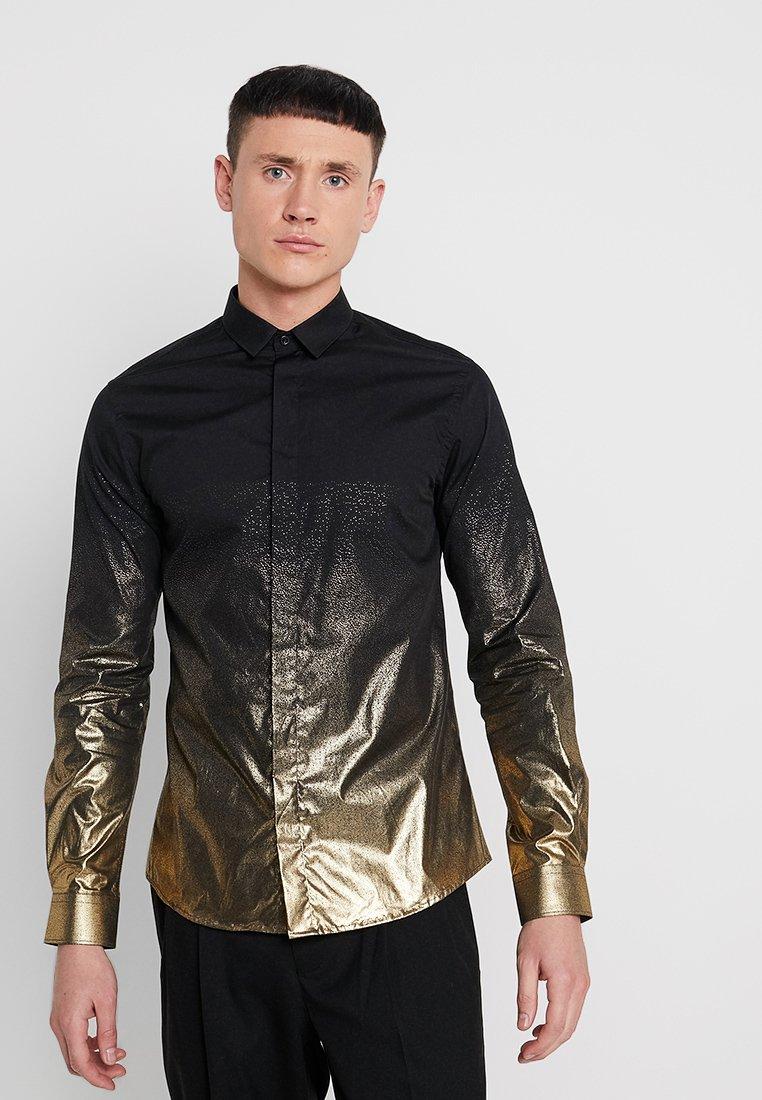 Twisted Tailor - THESEUS  - Shirt - black
