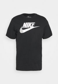 TEE FOIL FUTURA - Print T-shirt - black