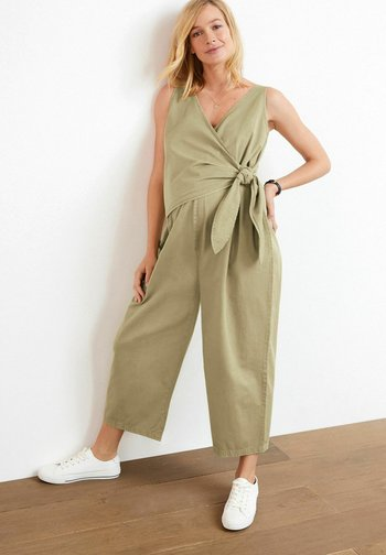 WRAP OVER  - Jumpsuit - green