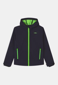 CMP - FIX HOOD UNISEX - Soft shell jacket - blue - 0