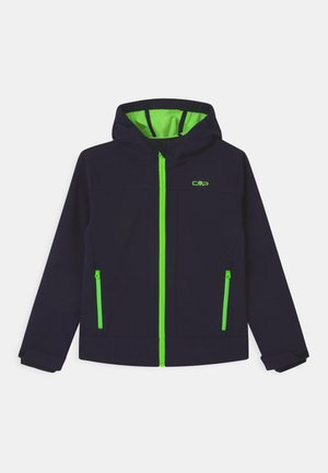 FIX HOOD UNISEX - Soft shell jacket - blue