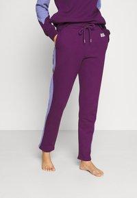 Diesel - ALINA TROUSERS - Pyjama bottoms - purple - 2