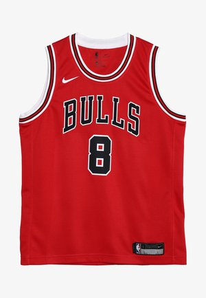 NBA CHICAGO BULLS ZACH LAVINE ICON SWINGMAN - Fanartikel - red