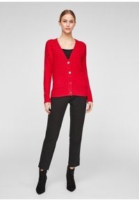 comma casual identity - Cardigan - scarlet red - 1