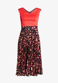 Closet - PLEATED SKIRT DRESS - Vestito elegante - red - 6