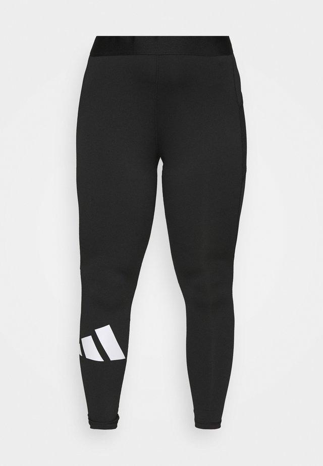ADILIFE  - Legging - black/white