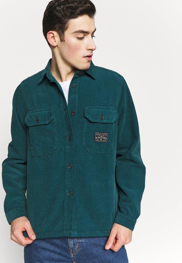 Kaotiko CAMISA - Koszula - blue/niebieski Odzież Męska HHWZ