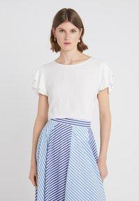 Bruuns Bazaar - LILLI RACHEL  - Bluse - snow white - 0