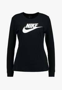 TEE ICON - Long sleeved top - black/white