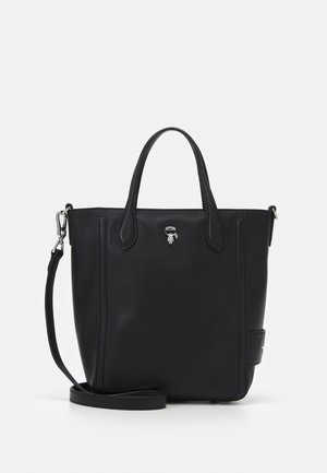 IKONIK 3D PIN MINI TOTE - Tote bag - black