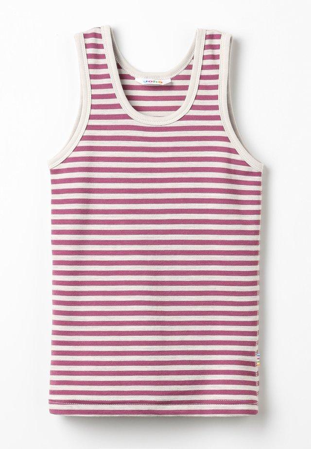 Unterhemd/-shirt - grey/dark red