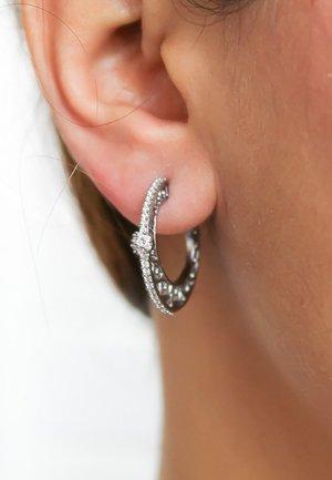 DIAGONAL - Boucles d'oreilles - black