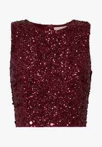 Lace & Beads - PICASSO - Top - burgundy - 3