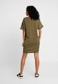 G-Star - MOXEL PKT DRESS WMN S\S - Jersey dress - wild olive/forest night - 3