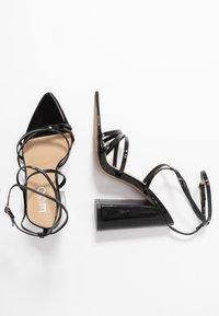 EGO - HALO - Sandalen met hoge hak - black - 3