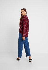 Lee - REGULAR WESTERN - Button-down blouse - warp red - 2