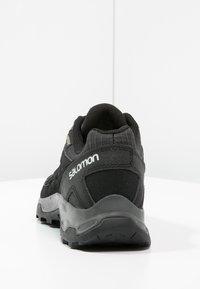 Salomon - EFFECT GTX - Hiking shoes - phantom/black/dawn blue - 3