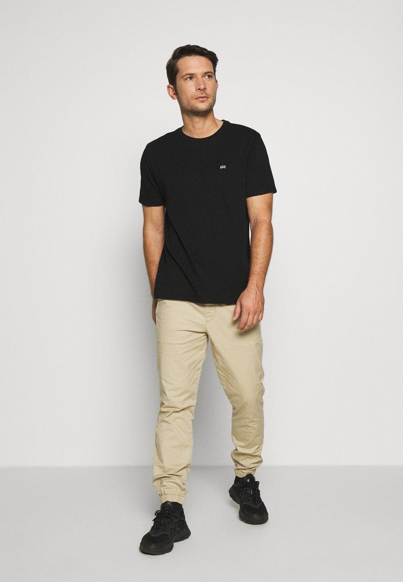 GAP - CREW 2 PACK - T-shirt basic - black
