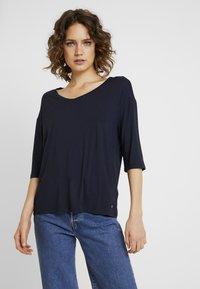 Esprit - T-shirt basique - navy - 0