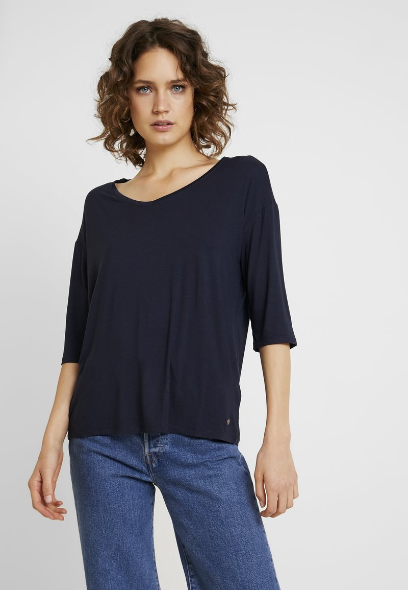 Esprit - T-shirt basique - navy