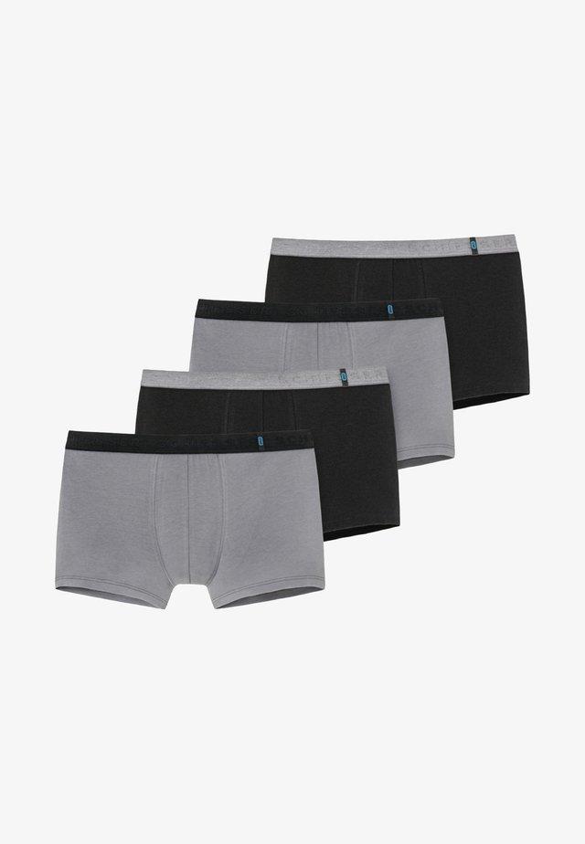 4 PACK - Onderbroeken - schwarz / grau