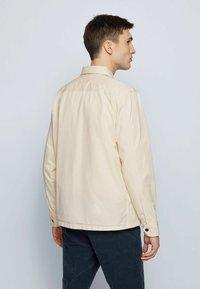 BOSS - LOVEL - Shirt - light beige - 2