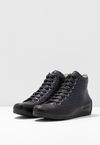 Candice Cooper - PLUS - Sneakers high - ninja blu/nero - 4