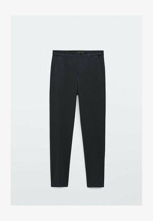 SLIM FIT - Trousers - blue