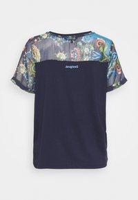 Desigual - VIENA - T-shirts med print - blue - 8
