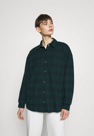 ALL I NEED SHACKET - Button-down blouse - green