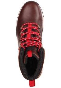 Element - MONDE - Lace-up ankle boots - walnut - 1