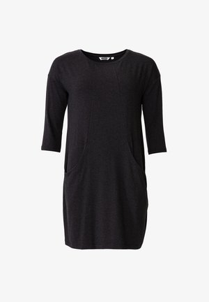 LINDEN - Jersey dress - dkgrey