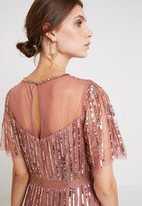 Lace & Beads - MEGHAN MAXI - Společenské šaty - dusty pink - 6