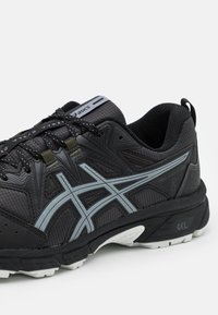 ASICS - GEL-VENTURE 8 WINTERIZED - Trail running shoes - graphite grey/gunmetal - 5