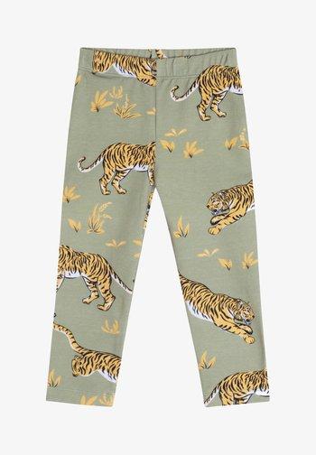 Leggings - Trousers - khaki green