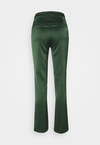Glamorous - STUDIO SPLIT SKINNY FIT TROUSER - Trousers - forest green - 1
