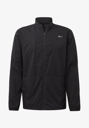 RUNNING ESSENTIALS WIND JACKET - Löparjacka - black
