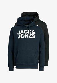 Jack & Jones - 2 PACK - Hoodie - black - 5