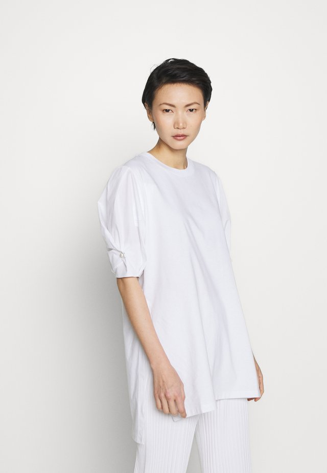 GEORGIA - T-shirt basic - white