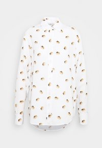 Fiorucci - ALL OVER ANGELS PRINTED - Button-down blouse - white - 0