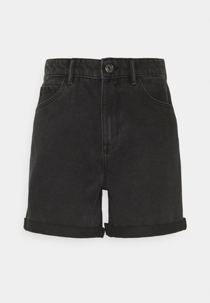 ONLVEGA LIFE MOM - Shorts di jeans - black