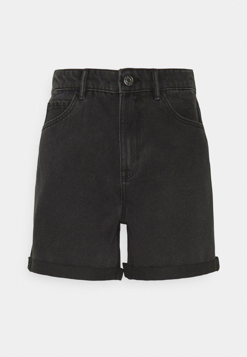 ONLY - ONLVEGA LIFE MOM - Shorts di jeans - black