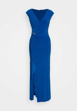 CLASSIC LONG GOWN - Occasion wear - portuguese blue