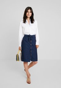 Esprit - SOFT OXFORD - Button-down blouse - white - 1