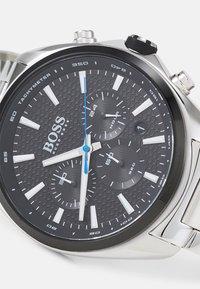 BOSS - DISTINCT - Chronograph watch - silver-coloured/black - 3