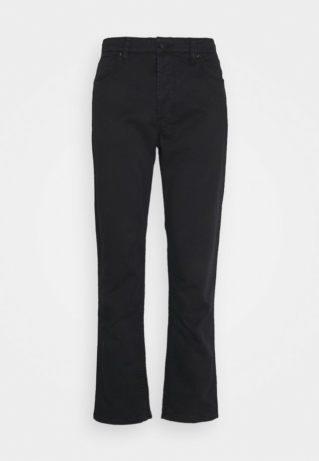 RAY STRAIGHT - Straight leg jeans - black
